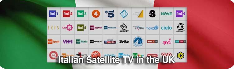 Italian Satellite TV in the UK
