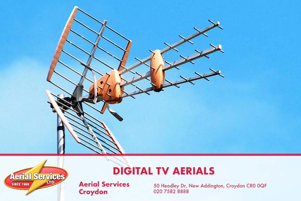 Digital TV aerials