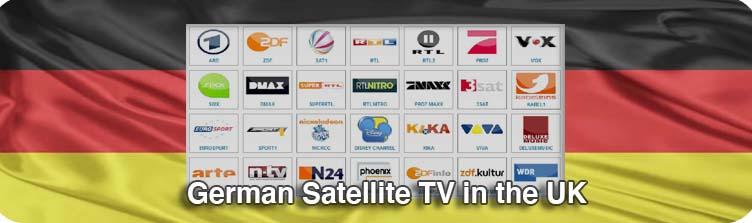 German Satellite TV in the UK