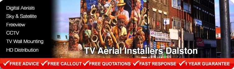 TV Aerial Installers Dalston