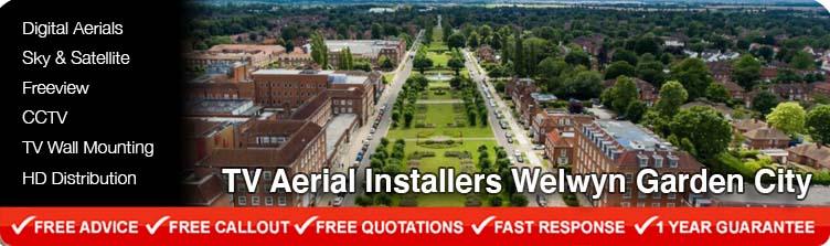TV Aerial Installers Welwyn Garden City