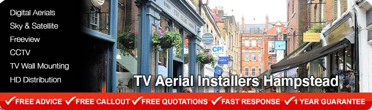 TV Aerial Installers Hampstead