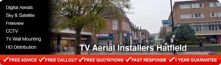 TV Aerial Installers Hatfield