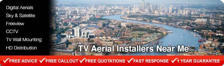 TV Aerial Installers near me