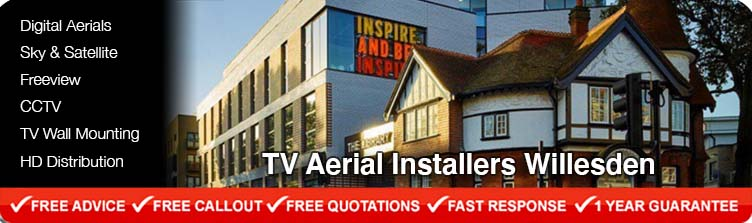 TV Aerial Installers Willesden London