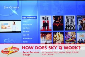 How does Sky Q work